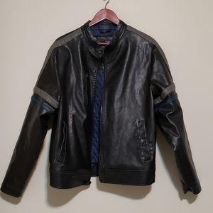 Brave Soul Leather Jacket Size Large